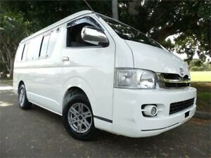 2010 Toyota HiAce 10 seater 2010 GL Luxury SWB 10 Seater White Automatic Wagon Concord Canada Bay Area Preview