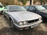 Jaguar X-type automatic, starts and drives, being sold as spares or repair due to battery overchargi