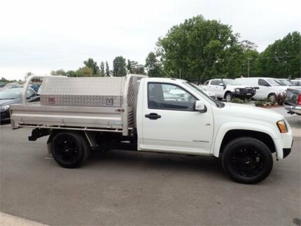 2010 Holden Colorado RC MY10 LX 4x2 White 5 Speed Manual Cab Chassis Elderslie Camden Area Preview