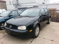 2002 Volkswagen Golf CERTIFIED AND ETESTED