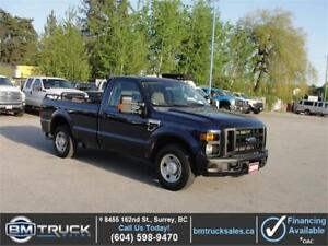 2009 FORD F-250 SUPER DUTY XL REG CAB LONG BOX POWER LIFT GATE