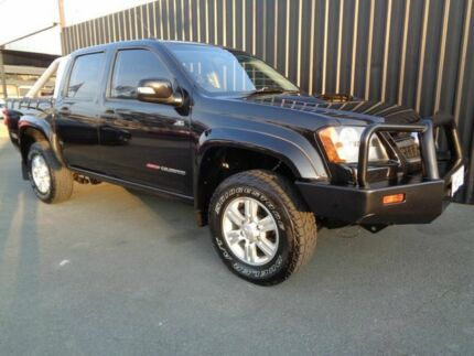 2009 Holden Colorado RC MY09 LX (4x4) Black 5 Speed Manual Crew C/Chas