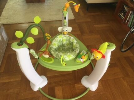 Evenflo Exersaucer Safari friends jumper/bouncer