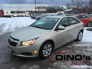2014 Chevrolet Cruze 1LT | $47 Weekly *OAC $0 Down / ONLY 26km