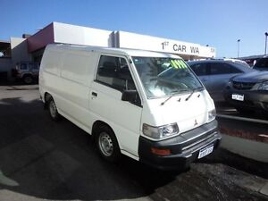 2011 Mitsubishi Express 95000KMS White 5 Speed Manual Van Victoria Park Victoria Park Area Preview