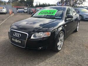 2005 Audi A4 B6 1.8T Black CVT Multitronic Sedan Lansvale Liverpool Area Preview