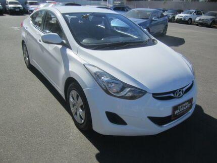 2012 Hyundai Elantra MD2 Active White 6 Speed Sports Automatic Sedan Melrose Park Mitcham Area Preview