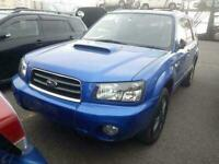 2005 Subaru Forester XT WR-LIMITED 2.0 TURBO AUTO PETROL SUV Petrol Automatic