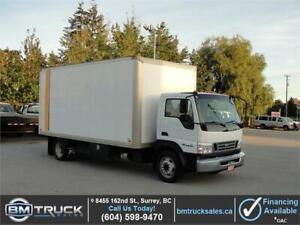 2007 FORD LCF 550 4.5L V6 DIESEL 16 FT CUBE BOX *LOW KM*