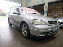 2003 Holden Astra TS SRi Silver 5 Speed Manual Hatchback Mordialloc Kingston Area Preview