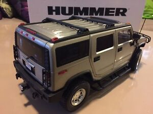 RARE 1:18 SCALE PEWTER TAUPE H2 HUMMER HIGHWAY 61 NEW W BOX Windsor Region Ontario image 2