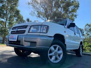 2001 Holden Jackaroo White 4 Speed Automatic Wagon