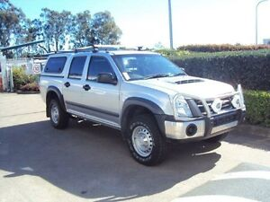 2011 Isuzu D-MAX MY11 SX High Ride Sterling Silver 4 Speed Automatic Utility Acacia Ridge Brisbane South West Preview