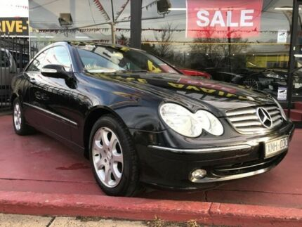 2003 Mercedes-Benz CLK240 C209 Elegance Black 5 Speed Automatic Coupe Maidstone Maribyrnong Area Preview