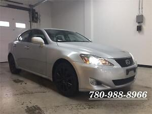 2008 Lexus IS250 AWD, Leather, Sunroof, Low Kms, MINT!!!