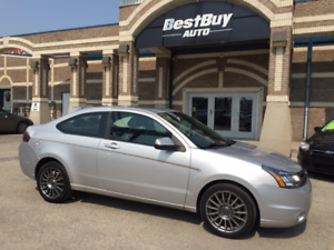 2009 FORD FOCUS SES_leather/sunroof/WE FINANCE 2% interest