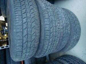 4 pneus 205/70/15 été