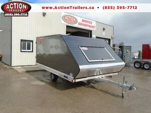 PRO STARR 8.5X12 REAR RAMP SLED TRAILER - SLED SEASON IS COMING!
