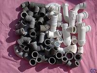 Variety of Plastic Pipe Fittings & Traps (unused)