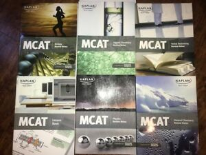 MCAT Kaplan 7 Book Set