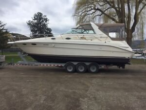 Low Hour 1996 330 Searay with Trailer