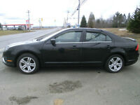 2010 Ford Fusion SEL AWD V6 Leather Moonroof Loaded 80000 kms