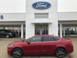 2017 Ford Fusion SPORT 2.7L V6 ECOBOOST AWD 24700KM