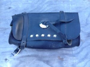Harley Davidson Motorcycle Leather Handlebar Bag