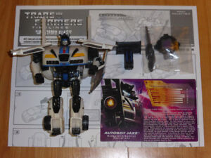 TRANSFORMERS BOTCON 2008 JAZZ SHATTERED GLASS EXCLUSIVE