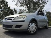 2005 Holden Barina Silver 5 Speed Manual Hatchback Kingston Logan Area Preview