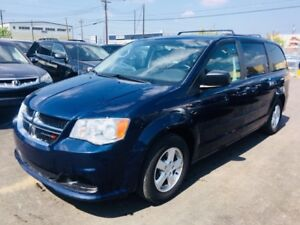 2012 Dodge Grand Caravan SXT, DVD, BackUp Camera, Clean Carproof
