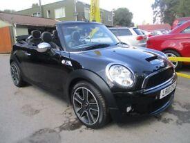 MINI CONVERTIBLE 1.6 COOPER S 2d 175 BHP (black) 2010