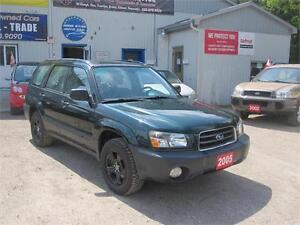 2005 Subaru Forester X AWD NEW TIRES NO RUST MUST SEE