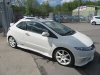 Honda Civic I-VTEC TYPE-R CHAMPIONSHIP WHITE 3d 198 BHP be quick wont in stock l (white) 2009