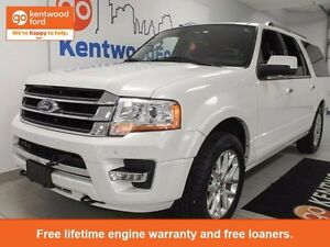 2016 Ford Expedition MAX Limited 4x4 ecoboost with NAV, heated/c