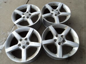 4 17 inch Alloy Rims for Nissan Vehicles