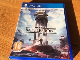 PS4 Game - Star Wars Battlefront Plus others