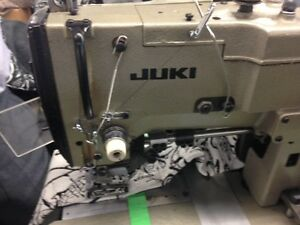 Industrial sewing machines, plotter-pad, downfilling, sergers