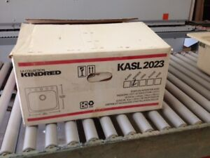 Kindred KASL 2023 sink NEW in box never used