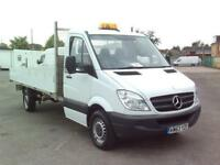 Mercedes-Benz Sprinter 313 CDI LWB DROPSIDE EURO4/5 DIESEL MANUAL WHITE (2013)
