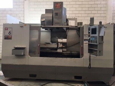 Haas Vf-6b40tr 5-axis Cnc Vertical Machining Center B36245