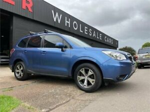 2015 Subaru Forester S4 MY15 2.5i-L CVT AWD Blue 6 Speed Constant Variable Wagon