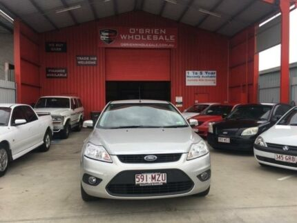2010 Ford Focus LV LX Silver 4 Speed Sports Automatic Sedan Clontarf Redcliffe Area Preview