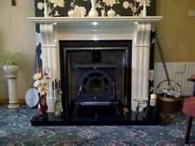STOVE FIREPLACE AND FITTING FROM ONLY £999