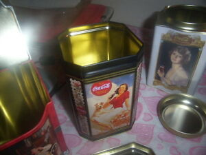 collectible tin containers coca-cola Kingston Kingston Area image 2