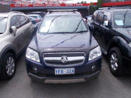 2008 Holden Captiva CG MY08 LX (4x4) Blue 5 Speed 5 SP AUTOMATIC Wagon