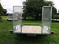 WINTER CLEARANCE**   GAlVANIZED 6x10 UTILITY SIDE X SIDE