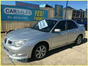 2007 Subaru Impreza MY07 2.0I (AWD) Silver 4 Speed Automatic Sedan