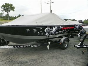 2013 Crestliner Fish Hawk 1650 WT 60HP