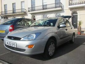 Ford Focus 2002, Silver, Manual, Petrol, good condition, new timing belt, Service History available.